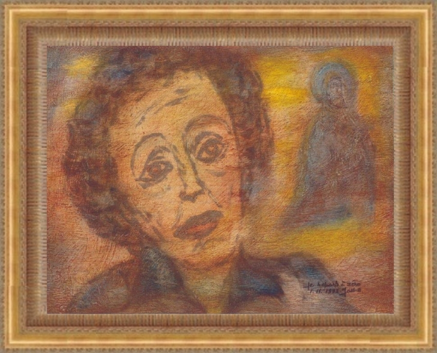 Edith Piaf by Vuilletjossjoss
